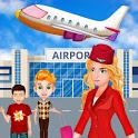 Summer Vacation Airport Trip: Flight Attendant icon