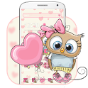Cute Cartoon Owl Theme icon