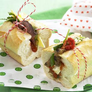 Mixed Baguette Sandwiches.