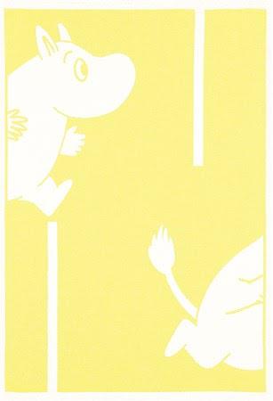 Ekelund Barnfilt Moomin Goes Yellow