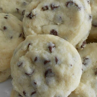 Tina's Shortbread Chocolate Chip Cookies.