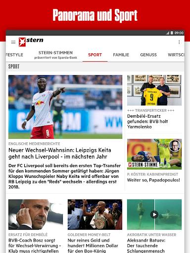 stern - Aktuelle Nachrichten 7.1.70 screenshots 7
