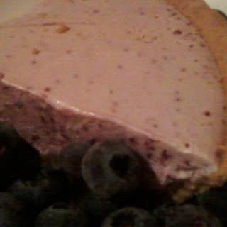 Blueberry Ice Cream Pie.