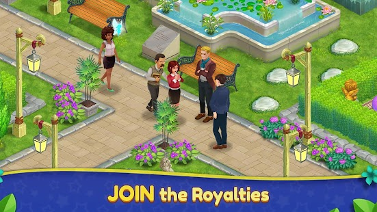 Royal Garden Tales - Match 3 Puzzle Decoration Screenshot