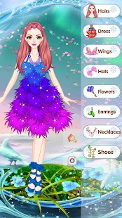 Elegant princess dress - Cute dress up game - náhled