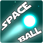 Gravity Space Ball: 2D Arcade Game. Free & Offline icon