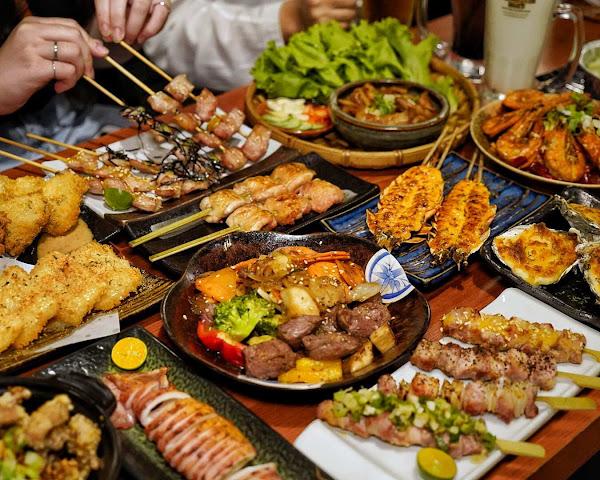新竹美食。大村武串燒居酒屋。隱身在巷弄裡的日式百年老屋,絕對是下班後小酌的首選之一。