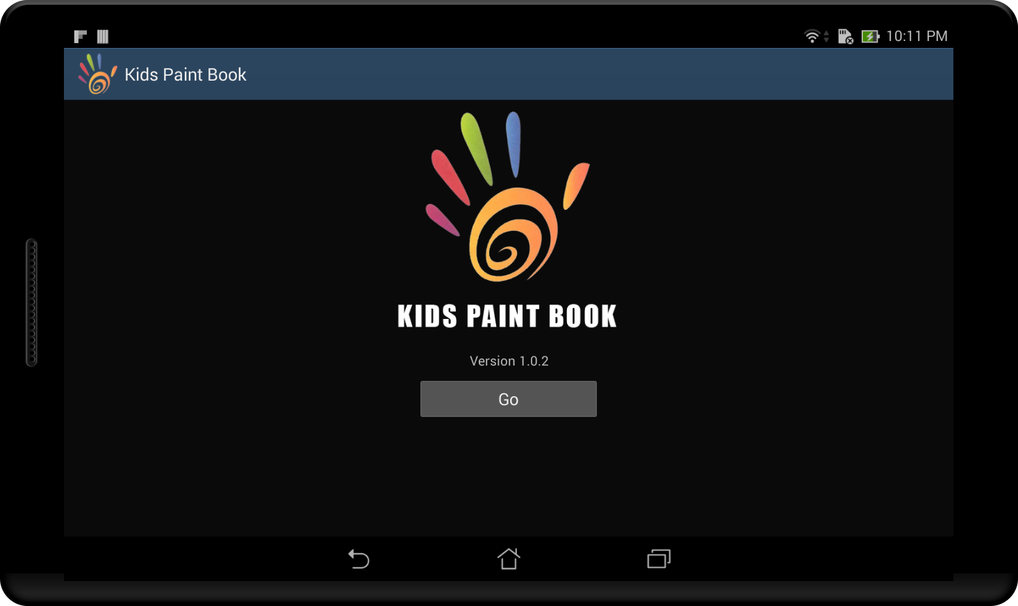 kids paint book screenshot - Kids Paint Book
