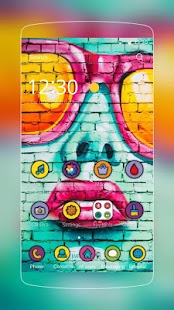 Graffti Girl Lip Theme - náhled