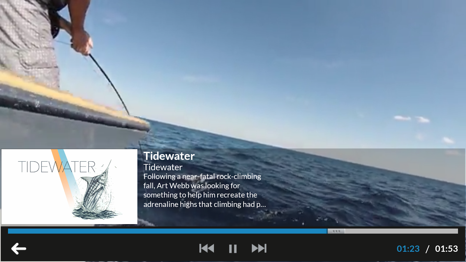 Fishing TV- screenshot