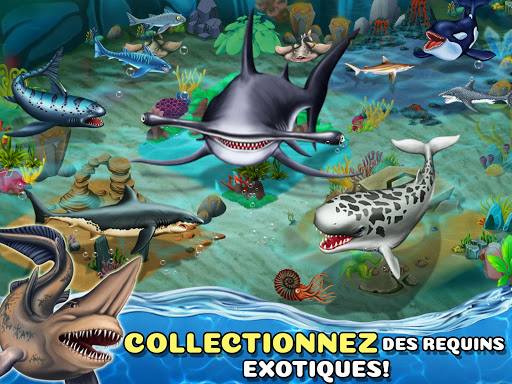 Code Triche Shark World APK MOD screenshots 3