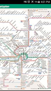 Frankfurt Rail Map - náhled