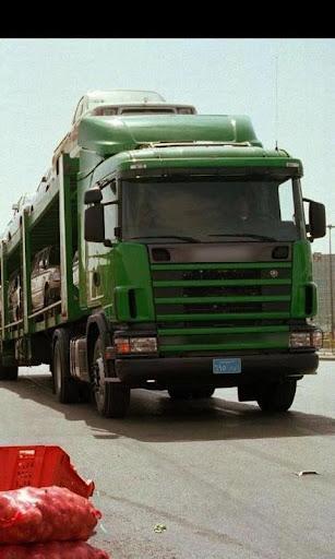 ジグソーパズルスカニアトラック