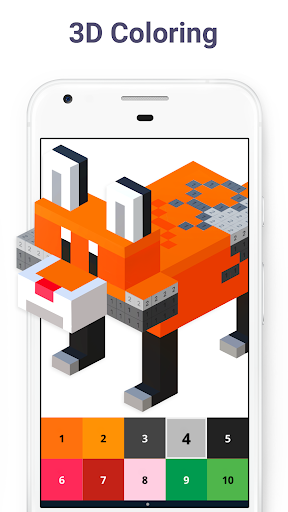 Pixel Art - Color by Number game (apk) free download for Android/PC/Windows screenshot