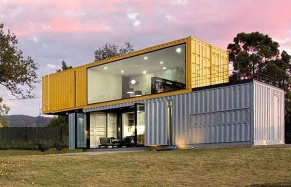 Container văn phòng đơn giản nhưng vô cùng hiện đại và trang nhã
