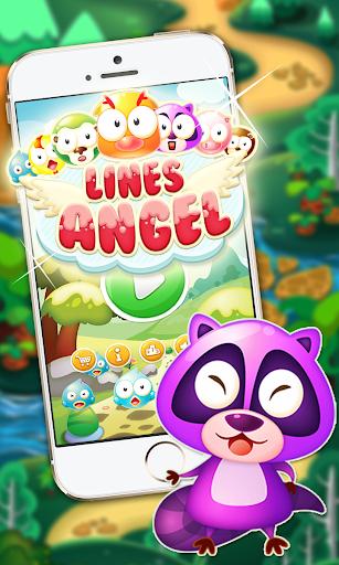Birds Line Angel - Lines Saga