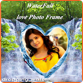 Waterfall Love Photo Frames