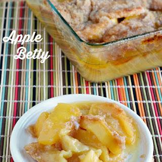 Mama's Apple Betty