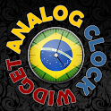 Brasil Analog HD Clock Widget icon