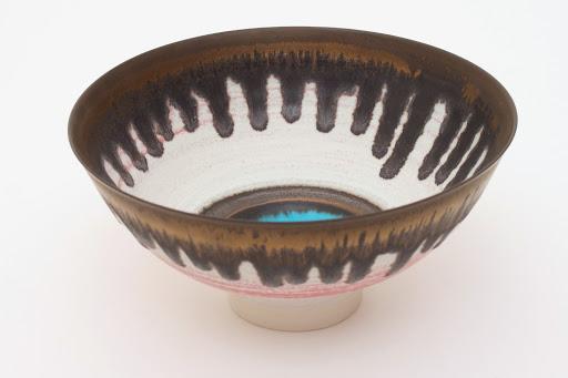 Peter Wills Ceramic Bowl 083
