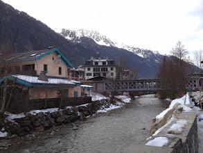 Photo: River Arve (flows to Geneva)