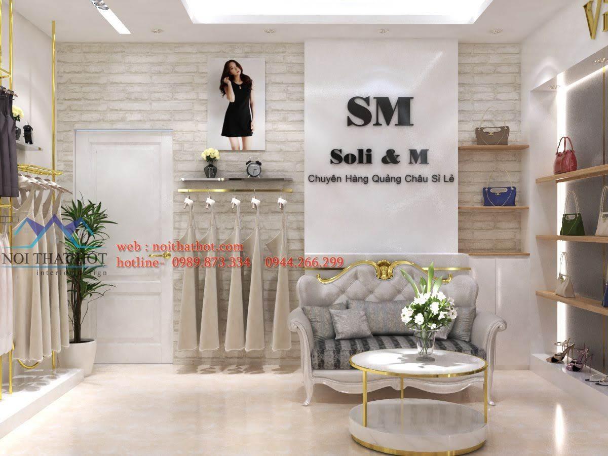 thiết kế shop thời trang sm 4