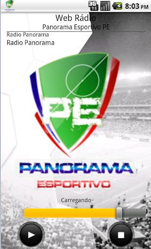 Web Rádio Panorama EsportivoPE