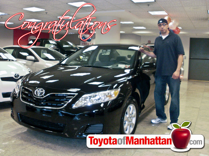 Photo: Happy Toyota of Manhattan Customer Frank with his new Toyota Camry! Congratulations Frank!