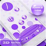 Next Launcher Theme Purbbles Icon