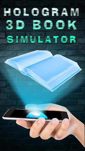 ホログラム3Dブックシミュレータ