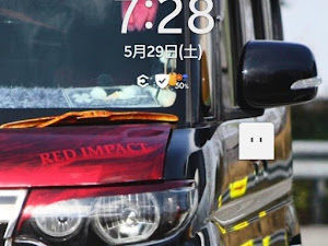 """タントカスタム L385Sのカスタム事例画像 さ〜chan """"RED IMPACT""""さんの2021年06月04日12:38の投稿"""