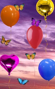 Balloons, live wallpaper screenshot 4