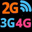 2G 3G 4G Switch icon