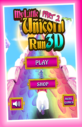 My Little Unicorn Runner 3D 2