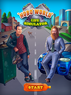 Hobo World – life simulator Apk Download For Android and Iphone 6