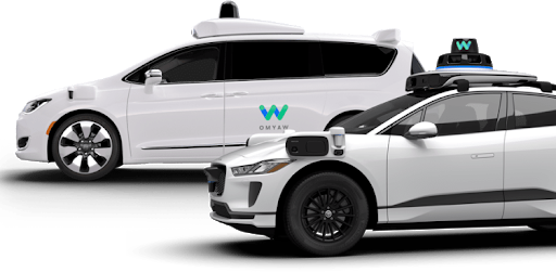 Waymo One vehicles