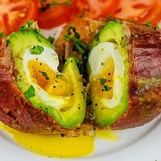 Prosciutto-Wrapped Avocado Egg Recipe