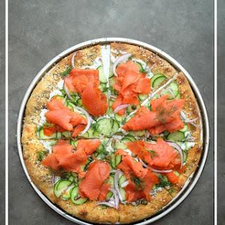 Lox Bagel Pizza.