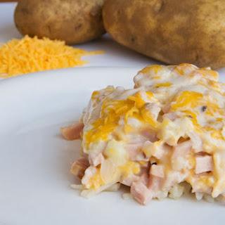 Hash Brown Potato Casserole.