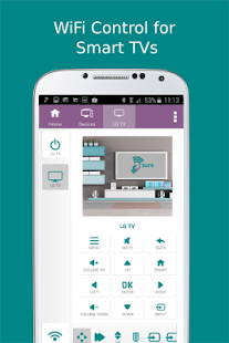 2 SURE Universal Remote App screenshot