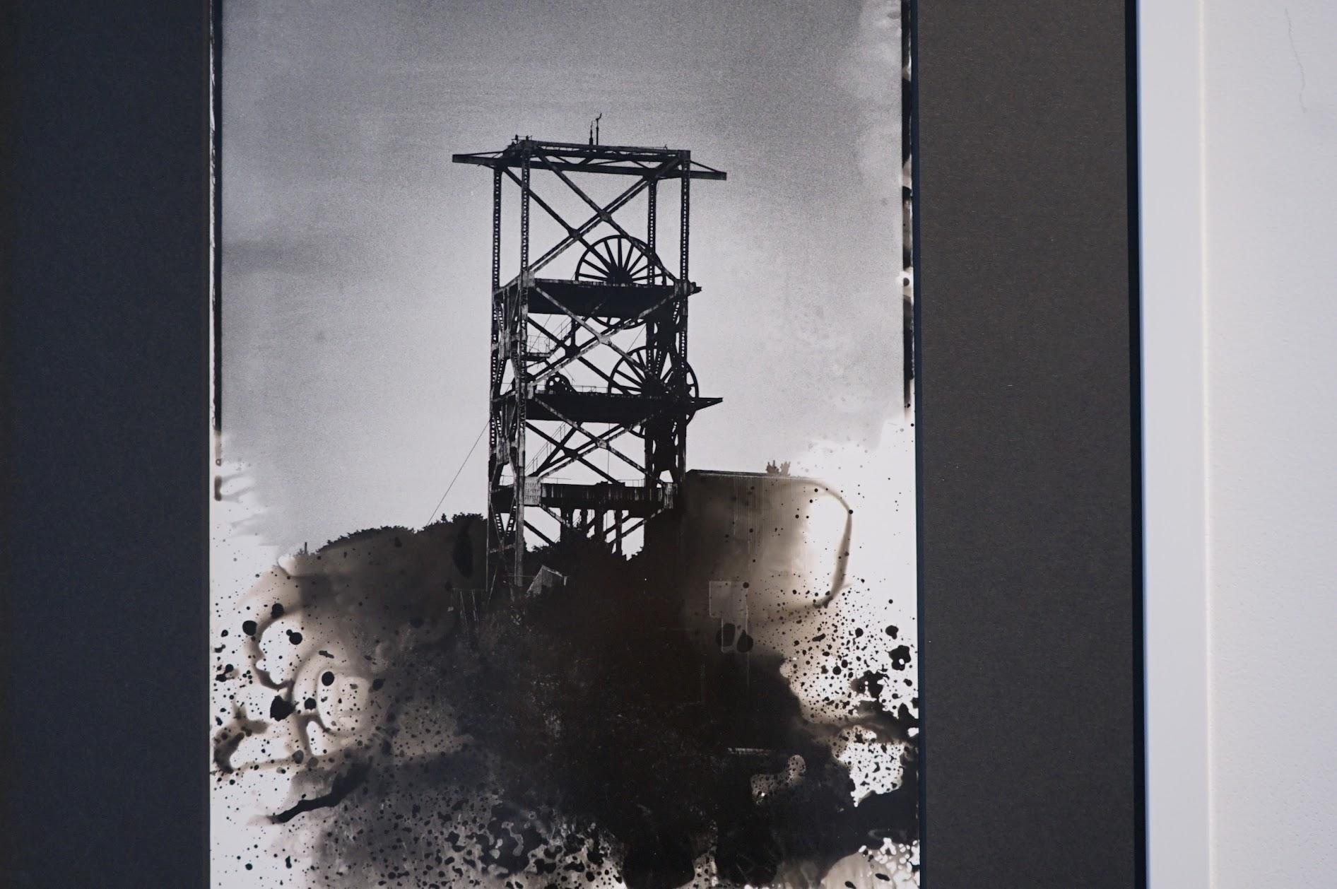 [池島]運輸煤礦的貨梯。