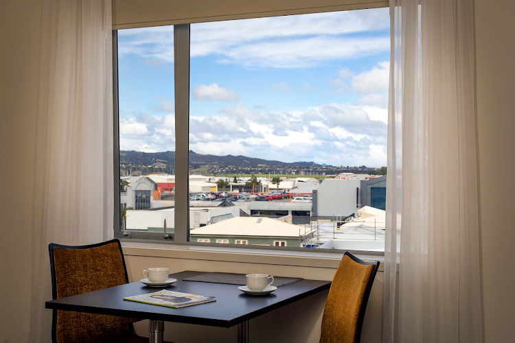 Dining space at Quest Whangarei