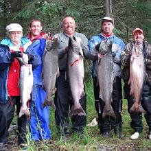 Photo: Kasilof river king salmon fishing, doesn't get any better.