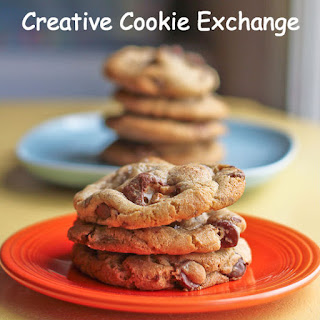 Chocolate Chunks Cookies with Vanilla Ice Cream #CreativeCookieExchange