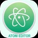 ATOM code editor icon