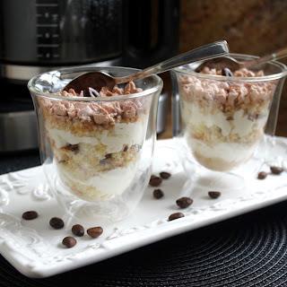 Mocha Eggnog Holiday Trifles