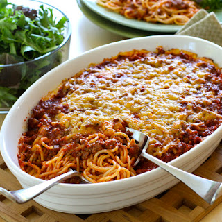 Make-Ahead Spaghetti Pie