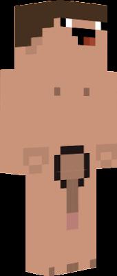 майнкрафт голый скин #5
