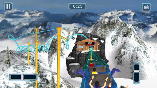Reckless Roller Coaster Sim: Rollercoaster Games 1.0.6 screenshots 5