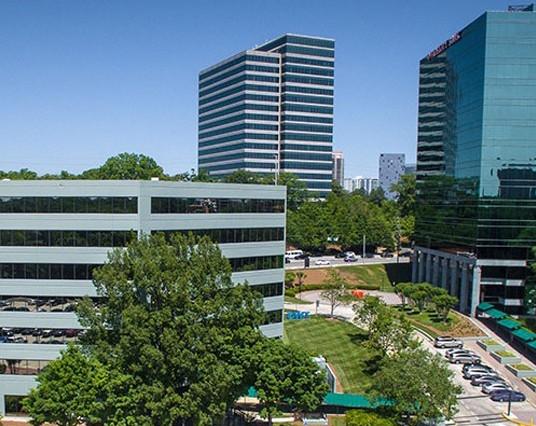 Atlanta office building.